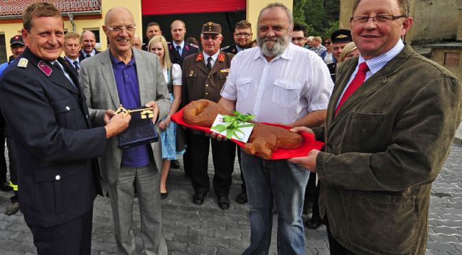 Steinbacher Feuerwehr bekommt ein neues Gerätehaus