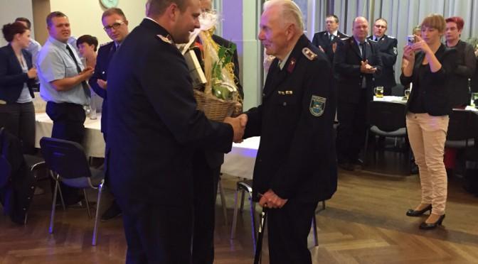 Festakt zum 75-jährigen Jubiläum der Freiwilligen Feuerwehr  Großbardau