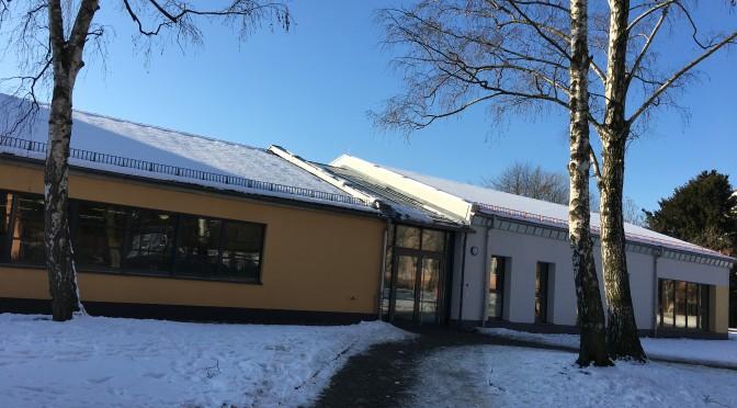 Oberschule Grimma: Einweihung des Mehrzweckgebäudes