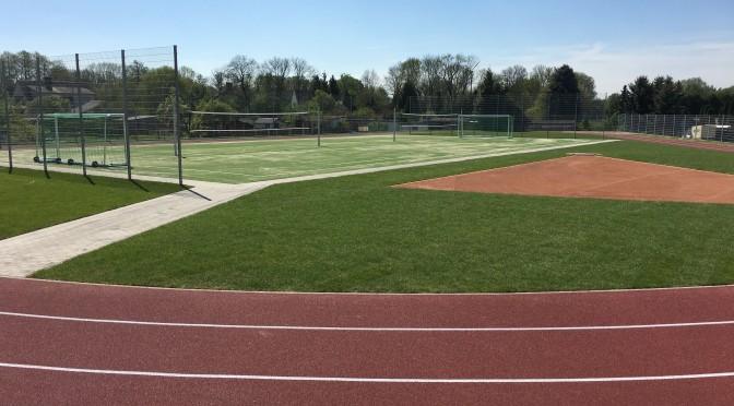 Bad Lausicks neuer Sportplatz ist fertig – Übergabe nach den Sommerferien