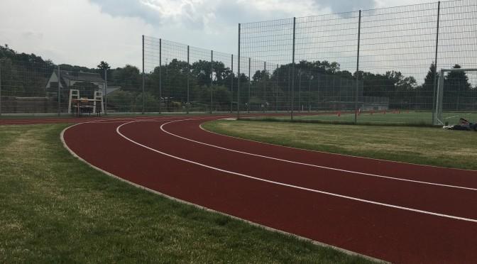 Bad Lausicks Oberschüler weihen die neue Sportanlage mit einem Sportfest ein