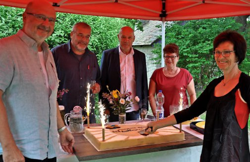 "Großpösnaer ""Kuhstall-Kultur"" feiert mit Wegbegleitern 20. Geburtstag"