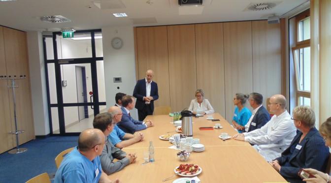 Staatsministerin Klepsch zu Besuch in Grimma